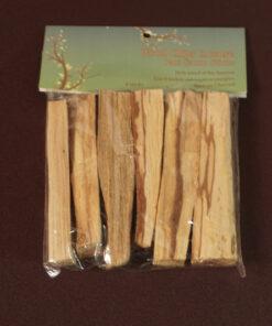 6 palo santo smudge sticks