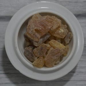 white copal resin