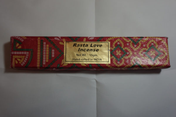 rasta love incense sticks
