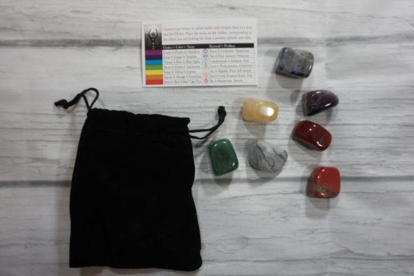 gemstone chakra balancing kit