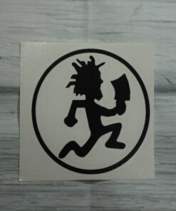 hatchet man sticker
