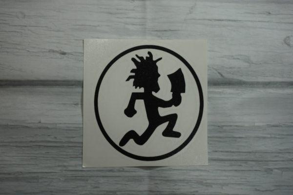 hatchet man sticker