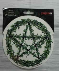 ivy pentagram sticker