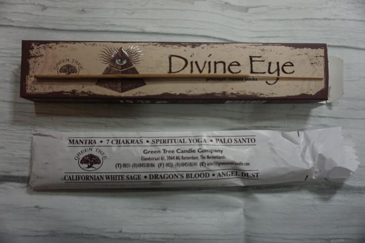 opened divine eye incense sticks