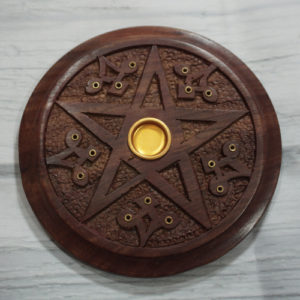 pentacle incense burner
