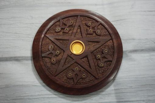 pentacle incense burner