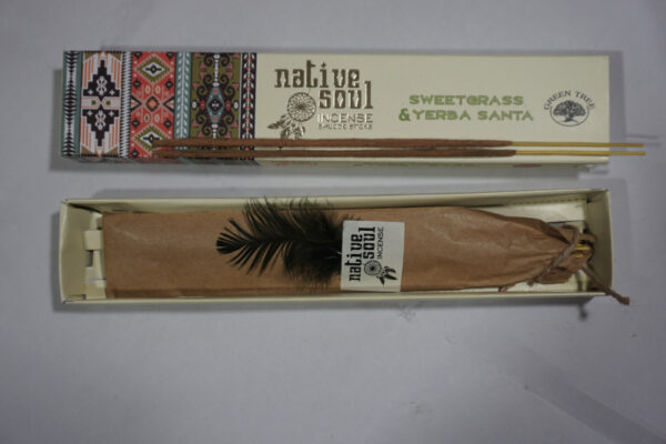 Green Tree Sweetgrass and Yerba Sate Incense Sticks