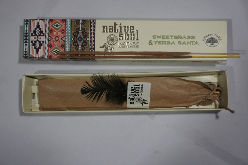 Green Tree Sweetgrass and Yerba Sate Incense Sticks