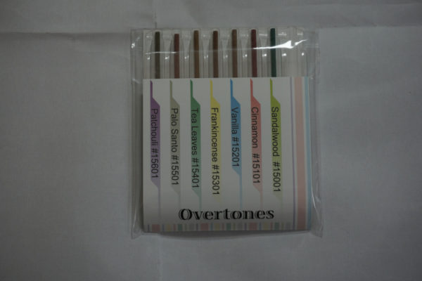 shoyeido overtones incense stick sampler