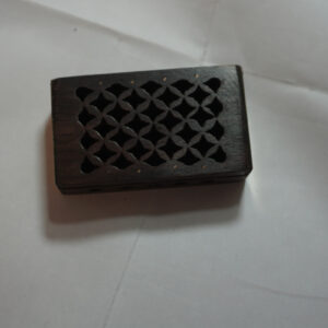 Amber Resin Box