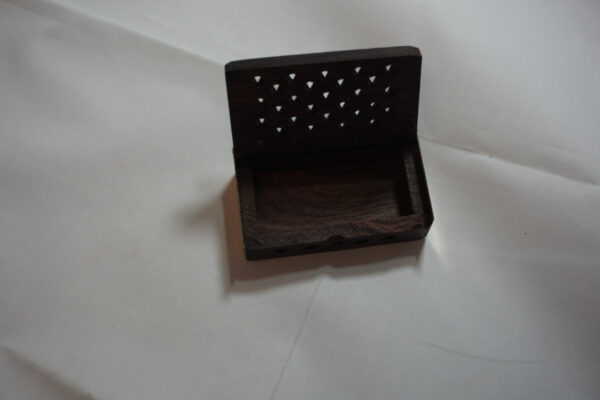 Amber Resin Box Opened