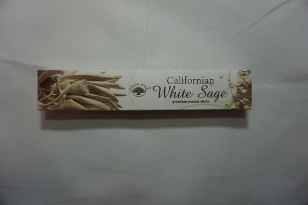 Green Tree White Sage Incense Sticks