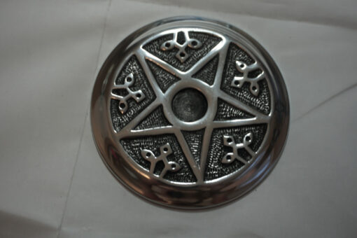 Metal Pentacle Incense Burner