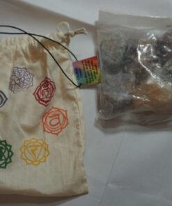 chakra gemstone kit opened