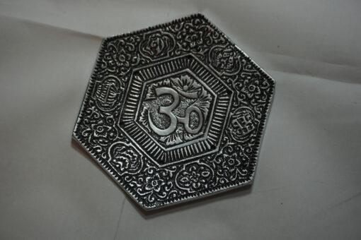 hexagonal ohm incense burner
