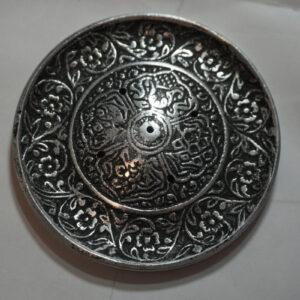 tibetan round incense burner
