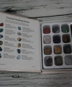 Crystal Healing Gemstone Kit Opened