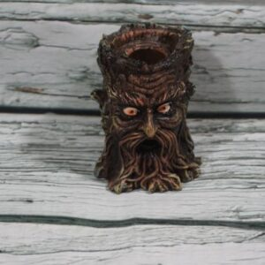 Mini Tree Stump Backflow Incense Burner
