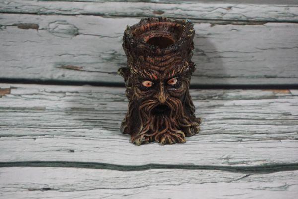 Mini Tree Stump Backflow Incense Burner
