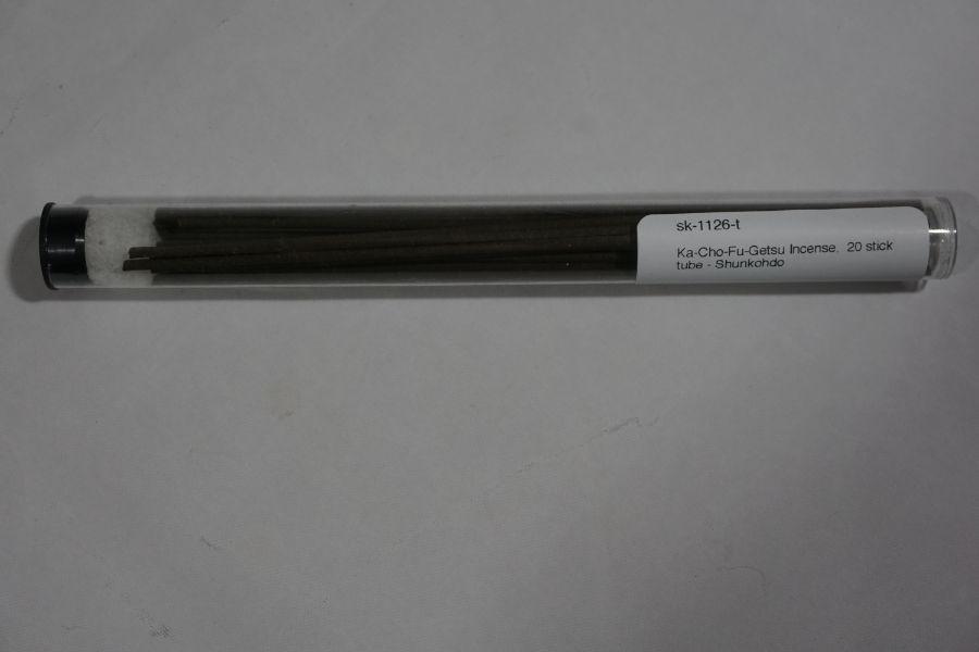 Shunkohdo Ka Cho Fu Getsu Incense Sticks