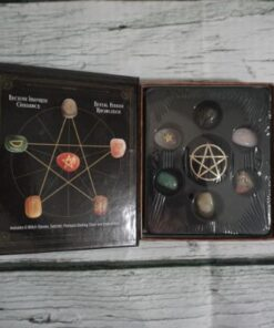 witch gemstone kit opened