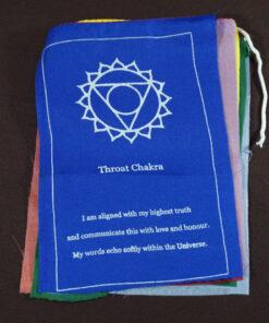 Seven Chakra Prayer Flags