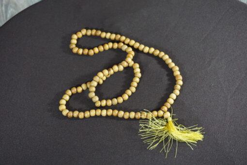 sandalwood mala prayer beads