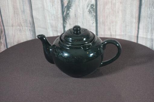 Dominion Black Teapot