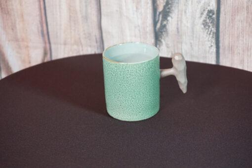 Fist Mug, Olive Green