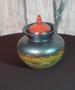 Small Temple Tea Canister