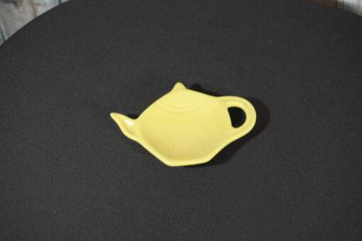 Tea Bag Holder Yellow