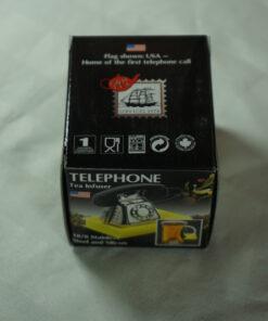 Telephone tea infuser in packaging