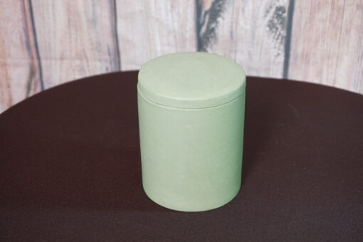Yixing Clay Tea Canister, Green