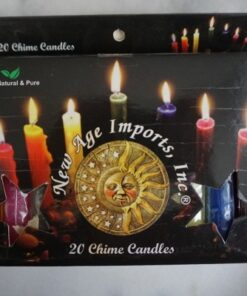 new age imports chime candle