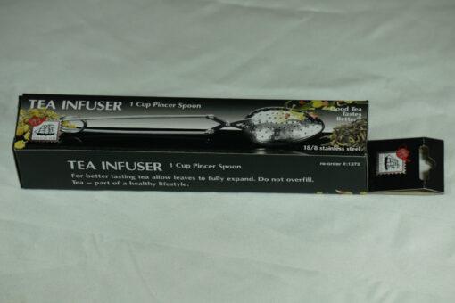pincer spoon tea infuser in packaging