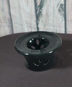 teapot warmer black