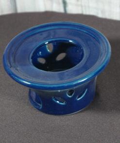 teapot warmer royal blue