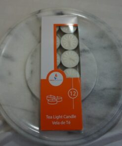 unscented tealight candles